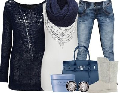 Casual-outfits Blue Day