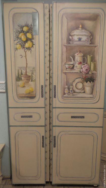 Роспись холодильника Прованский буфет   Буфеты, Декор ...
