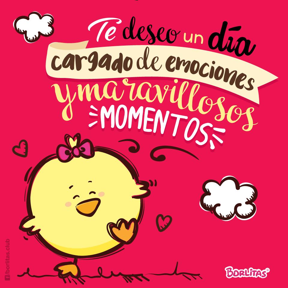 #Tedeseobuendía #concariño #Borlitas