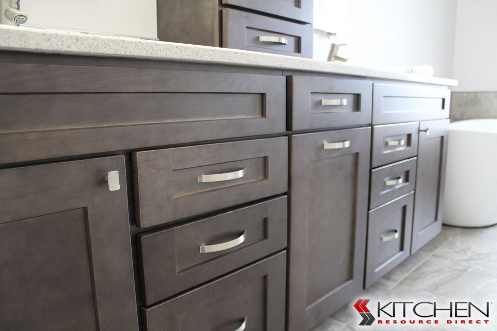 Close Up Of The Maple Charcoal Finish Http Www Cabinets Com