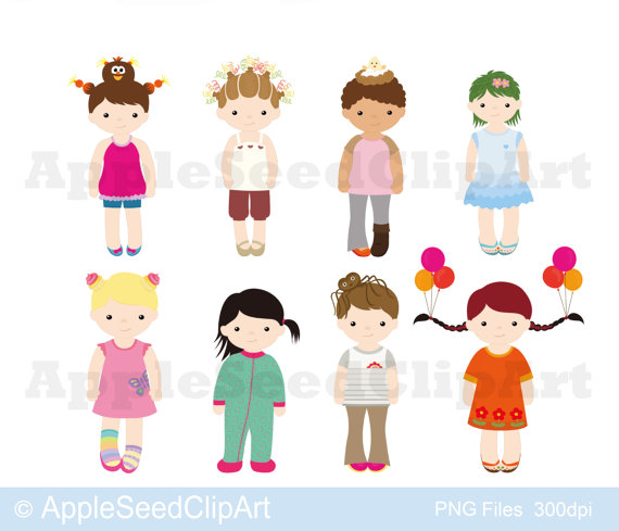Crazy Hair Day Digital Clip Art Pajamas By Leseedclipart