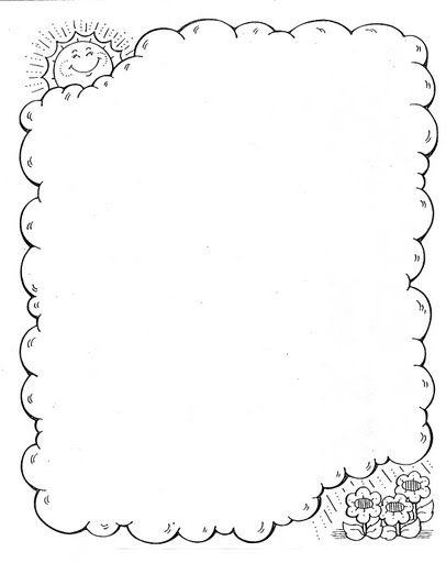 marcos primavera 19 | papeles para imprimir | Pinterest | Marcos ...
