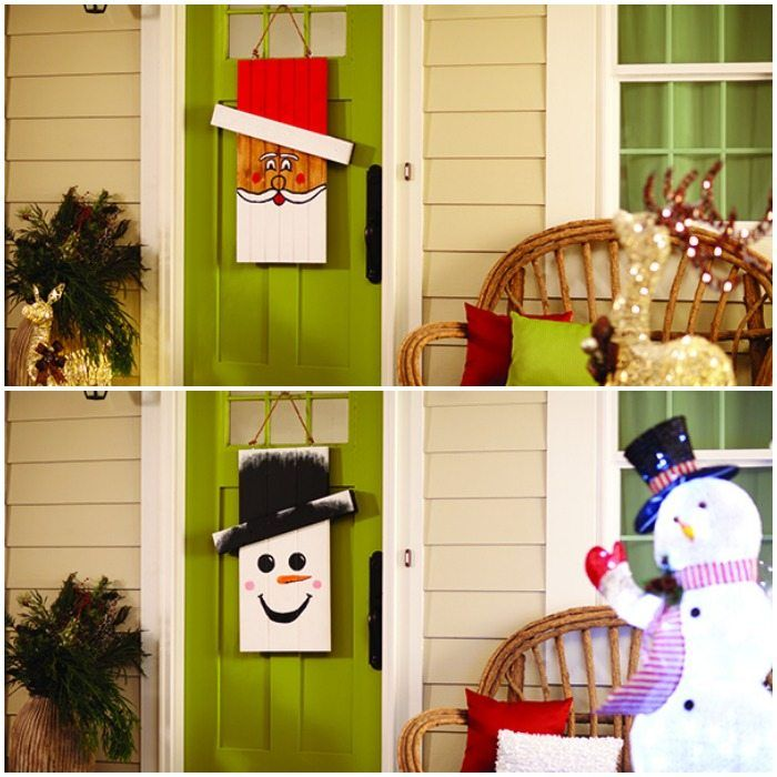 DIH Workshop Seasonal Character Door Hanger - Save the ...