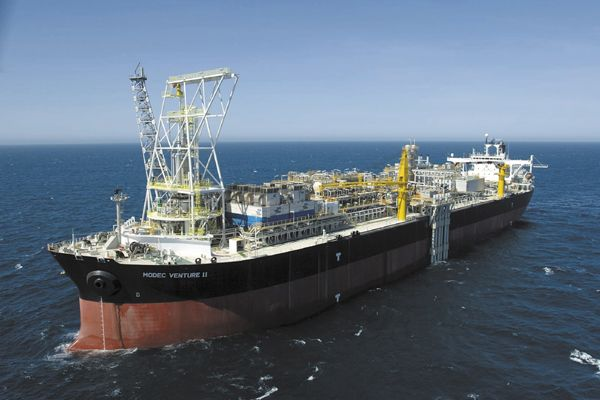 MMA's Vessel Supports Santos' FPSO in Australia