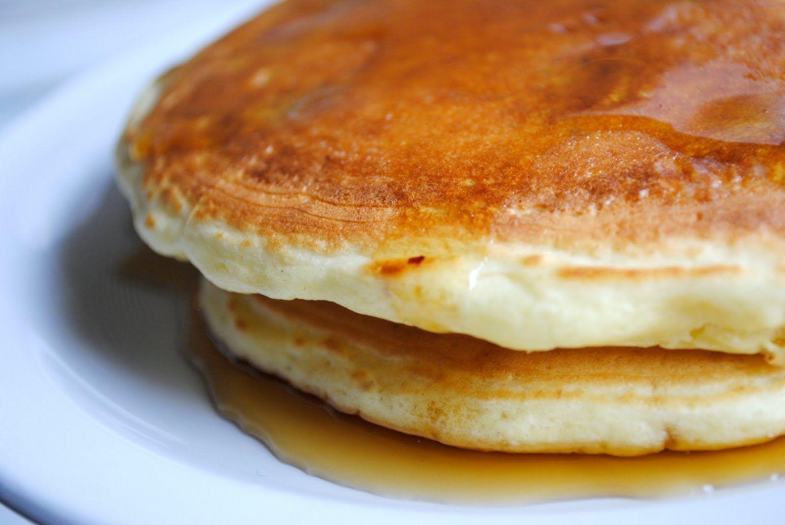 Simply Scratch » Lemon Blueberry Pancakes