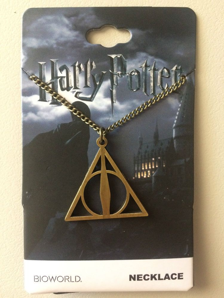 $20.00 AUTHENTIC HARRY POTTER - DEATHLY HALLOWS PENDANT NECKLACE - $20 - BRAND NEW