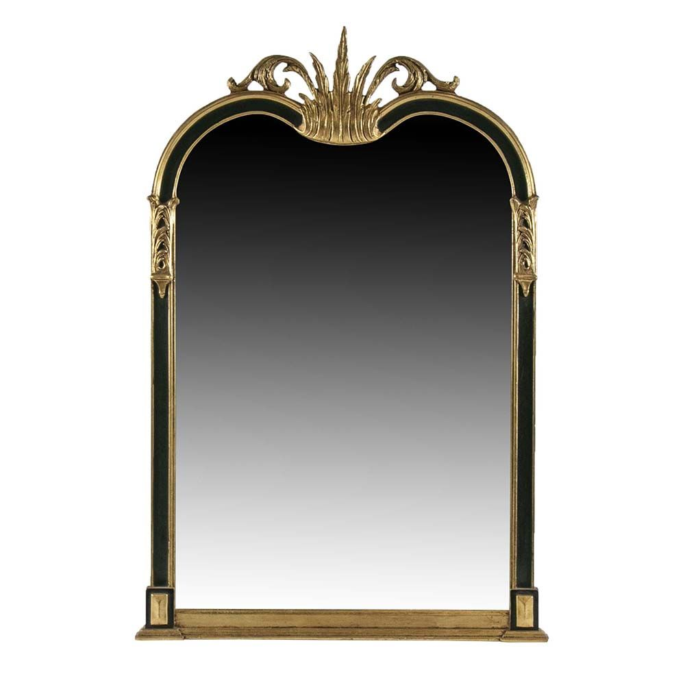 This Arched Mirror From Friedman Brothers Exhibits The Company S Signature Giltwood Finish And Old World Design Pair With Ref Mirror Arch Mirror Wall Art Decor