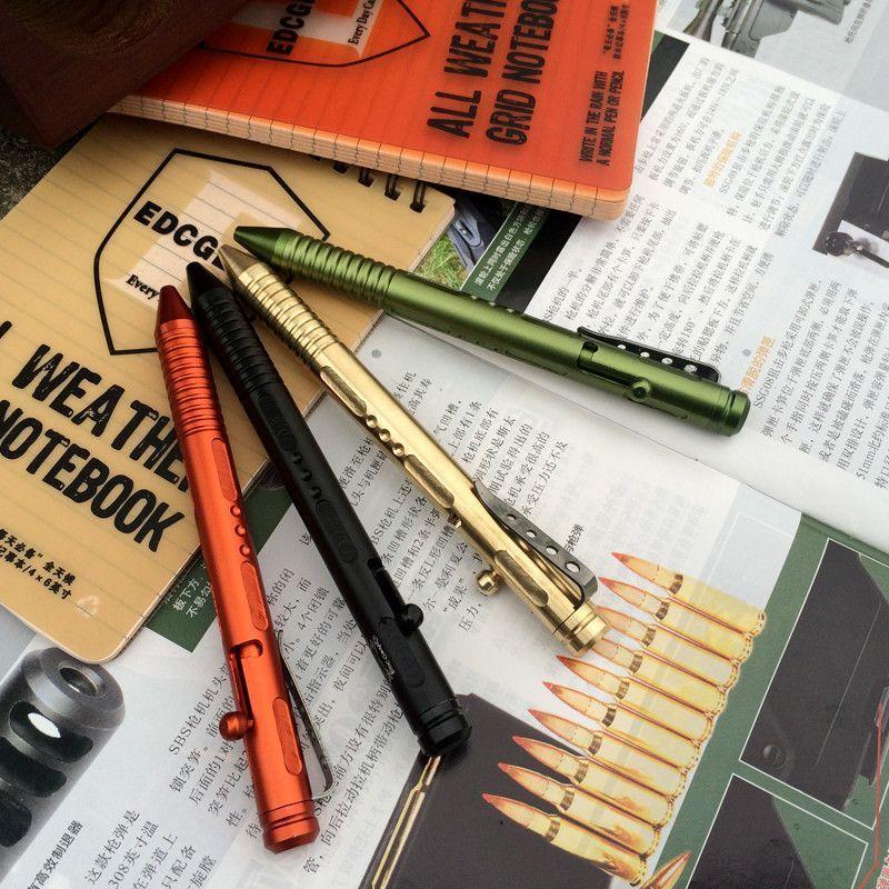 EDC gear Aluminium Alloy Tactical Pen Outdoor Survival Tool Ballpoint pen tools