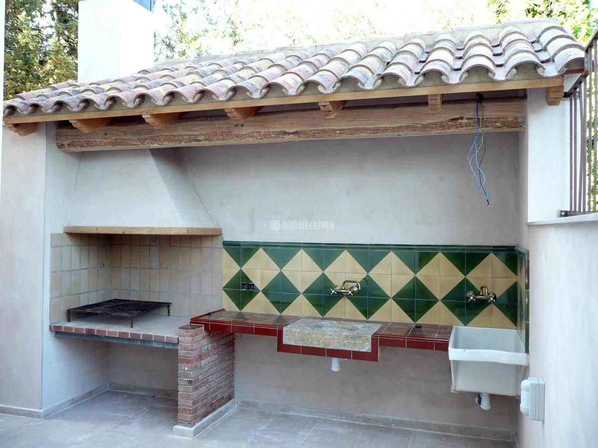 Decoration Barbecue Jardin Barbacoa De Obra Rustica Buscar Con Google Barbacoas