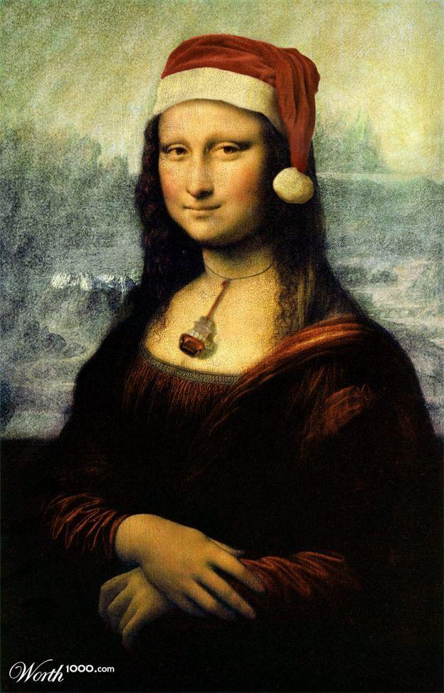 Holiday Modren 4 Mona Lisa Parody Mona Lisa Mona Lisa Smile
