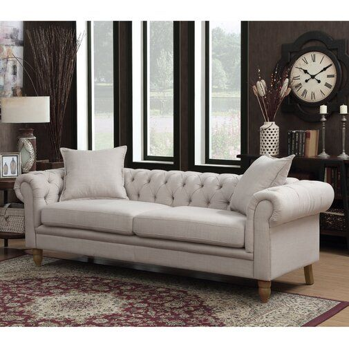Lantz Chesterfield Sofa Reviews Birch Lane Our House