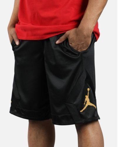 NIKE Men s Jordan Rise Diamond Basketball Shorts NEW 887438 014 Black 3XL   Nike  Athletic e76ac5d60