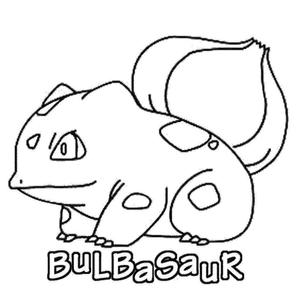 Bulbasaur Coloring Page Pokemon Pokemon Coloring Pages Pokemon Coloring Sheets Pokemon Coloring