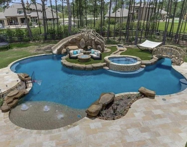 49 Luxury Backyard Pool Ideas Watergraafsmeer Swimming Pool House Pools Backyard Inground Backyard Pool