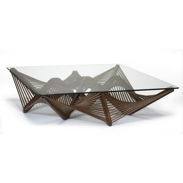 Geo Abstract Coffee Table Coffee Table Square Coffee Table