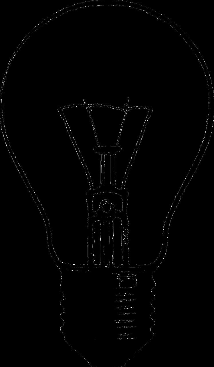 Foco roto, con humo. Fondo negro. | Broken bulb. Foco roto ... for Black Light Bulb Clip Art  66plt