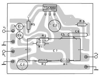TDA2050 Amplifier 32W Hi-Fi in 2020 | Audio amplifier ...