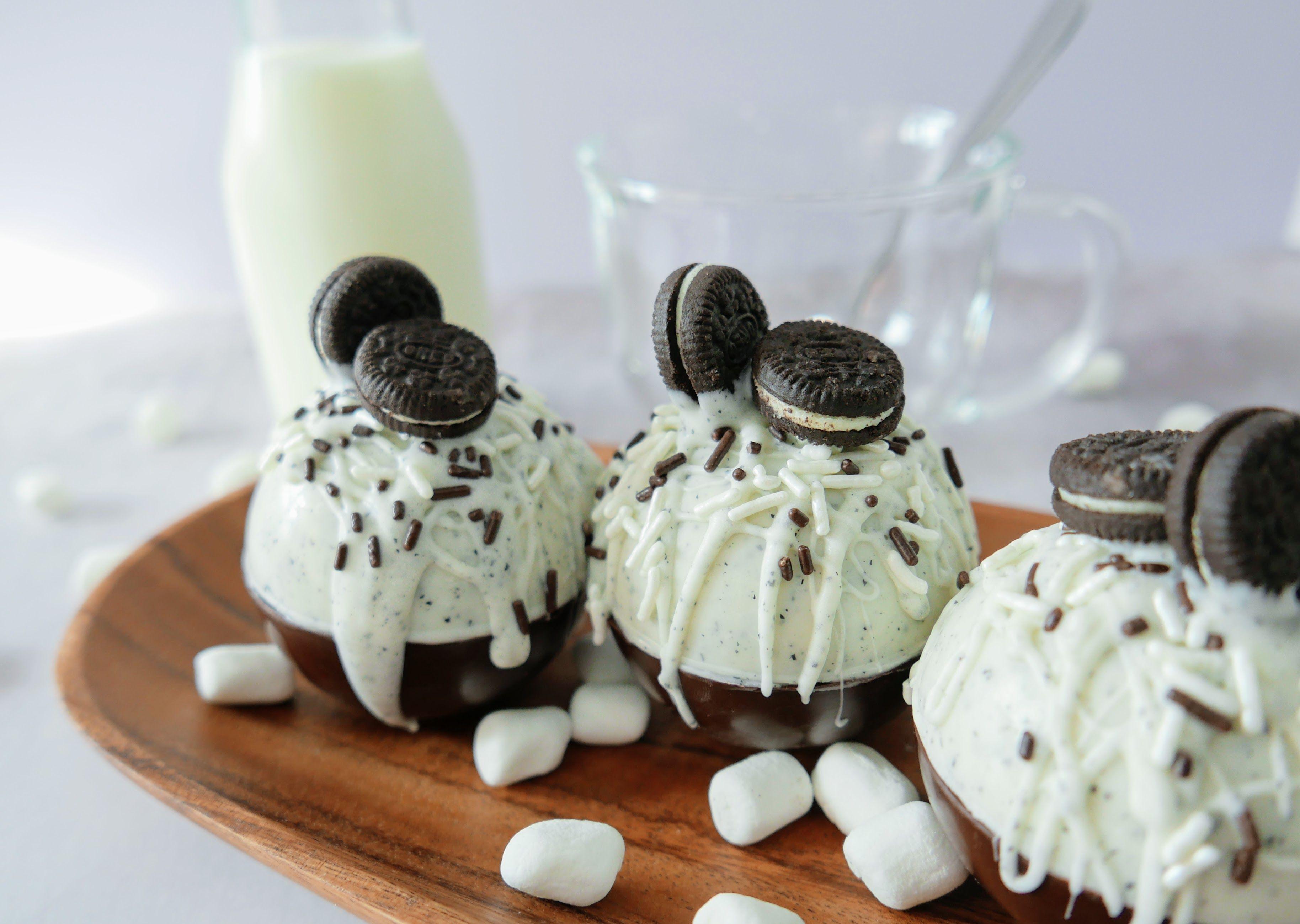Oreo Hot Chocolate Bombs