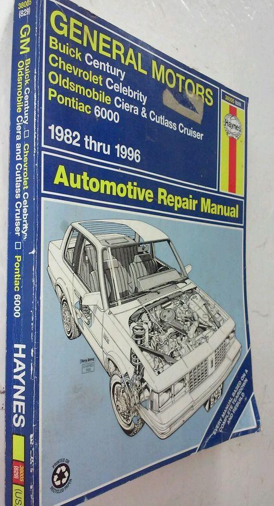 haynes general motors automotive repair manual 1982 1996 chevrolet rh pinterest com Product Factory Service Manuals Car Alarm Product Manuals