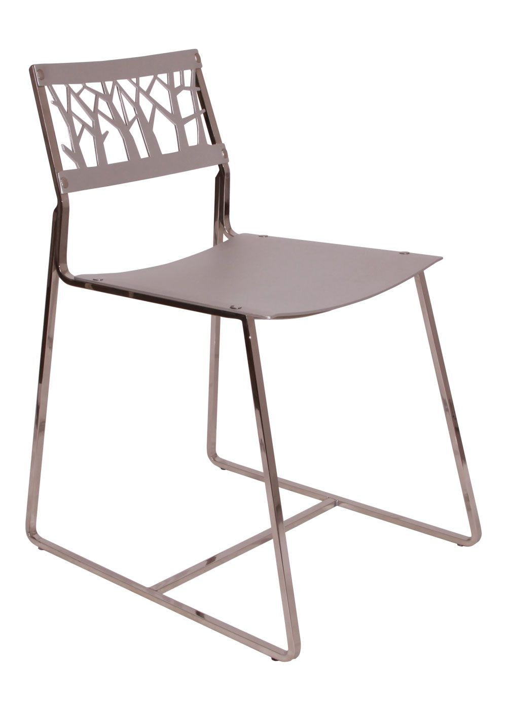 Charming Lars Aluminium Chair: Aluminium Seat U0026 Back, Stainless Steel Frame. Nice Design