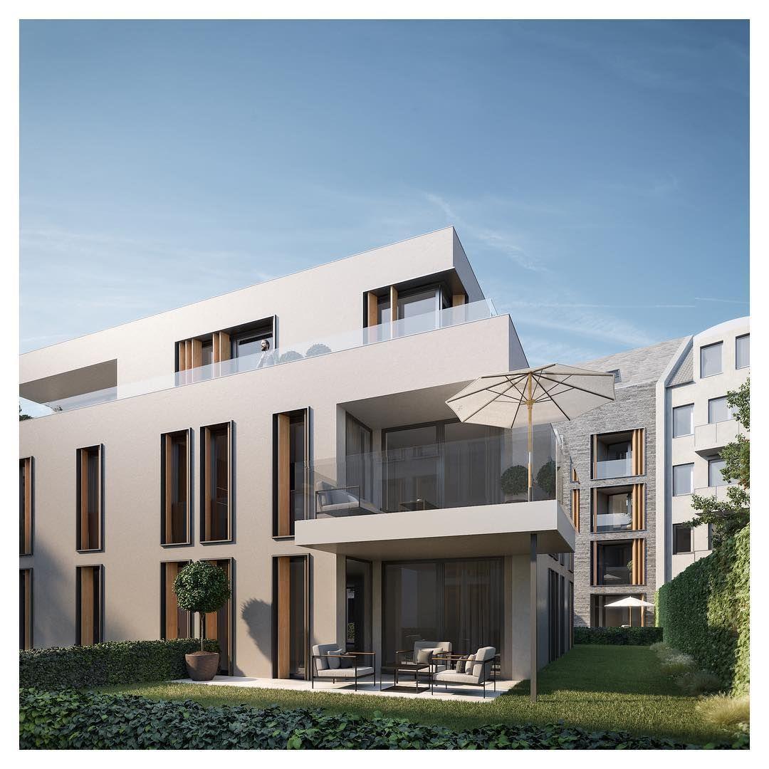 RAUMWERK 1 ️Die Gartenansicht 🍃 architecture realestate