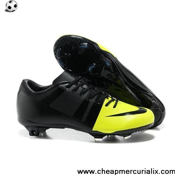 nike green and black football boots
