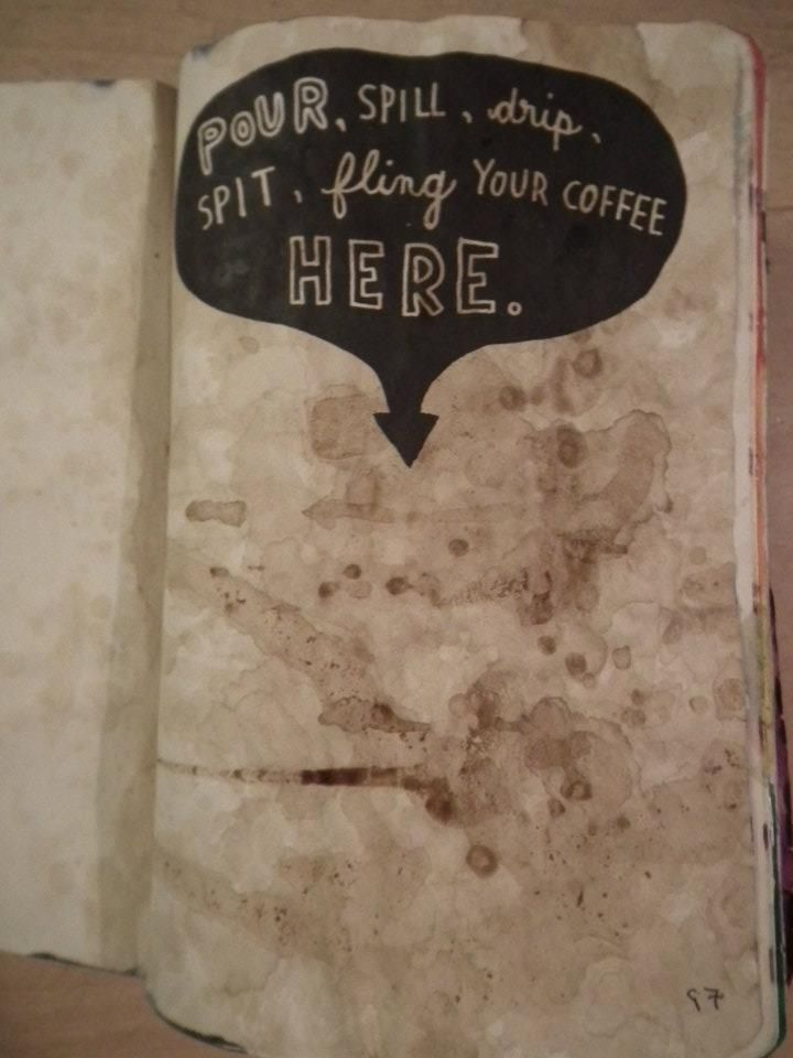Wreck This Journal - Coffee