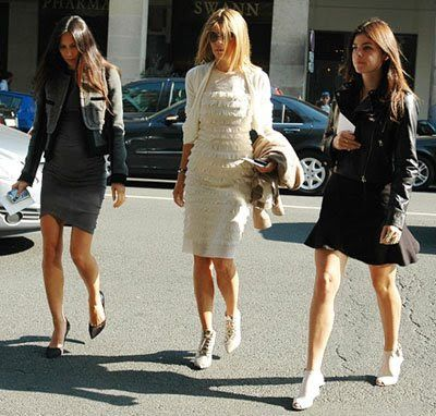 OMG I would wear all three outfits proudly. The French sure do know how to work it!!