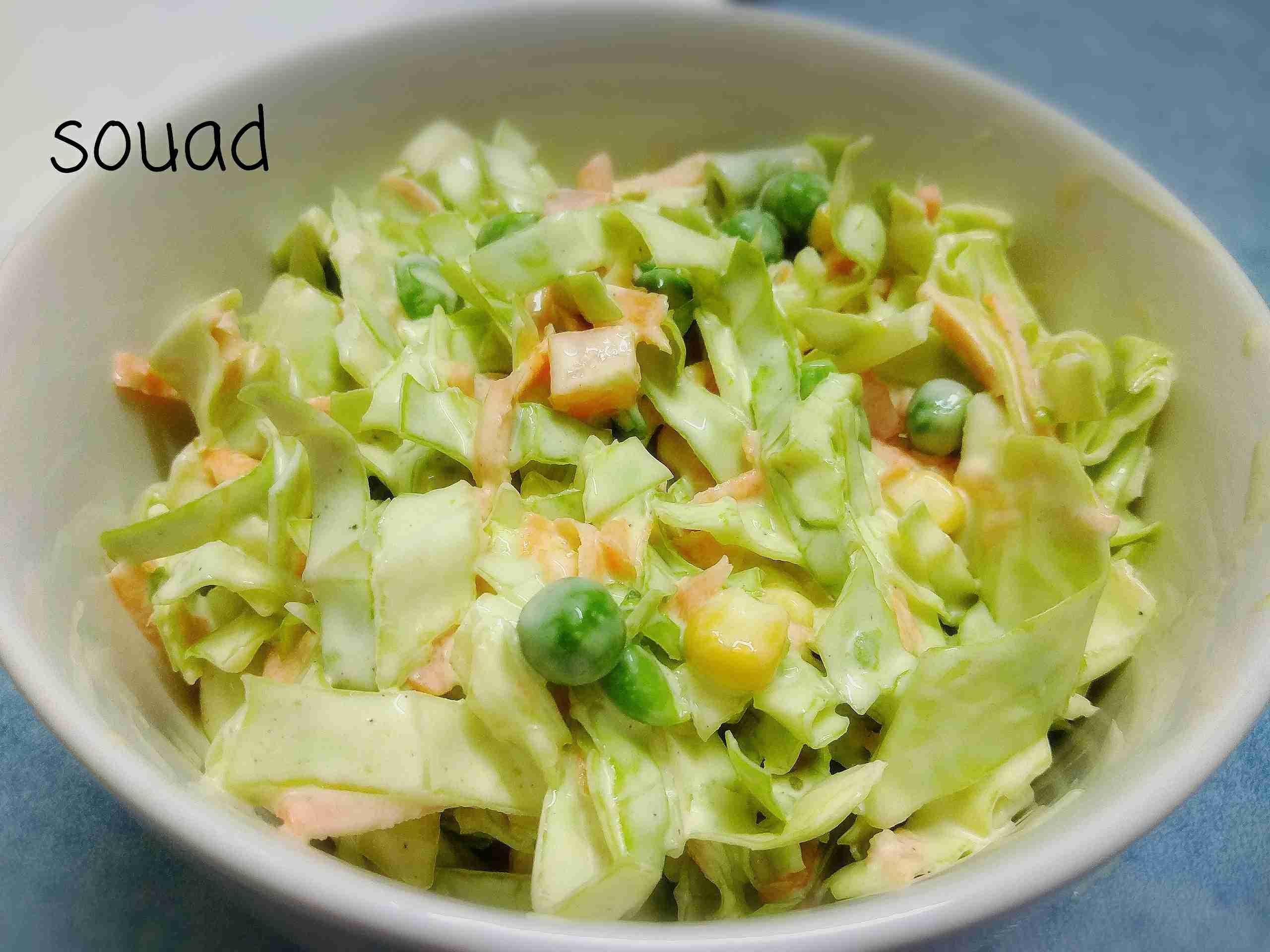 سلطة كول سلو من مطبخي ملكة السلطات زاكي Recipe Comfort Food Cooking Arabic Food