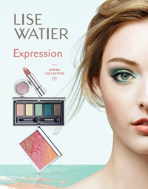 Lise Watier Expression Collection for Spring 2015