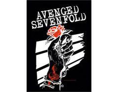 Avenged Sevenfold - Rose - Textile Poster Flag