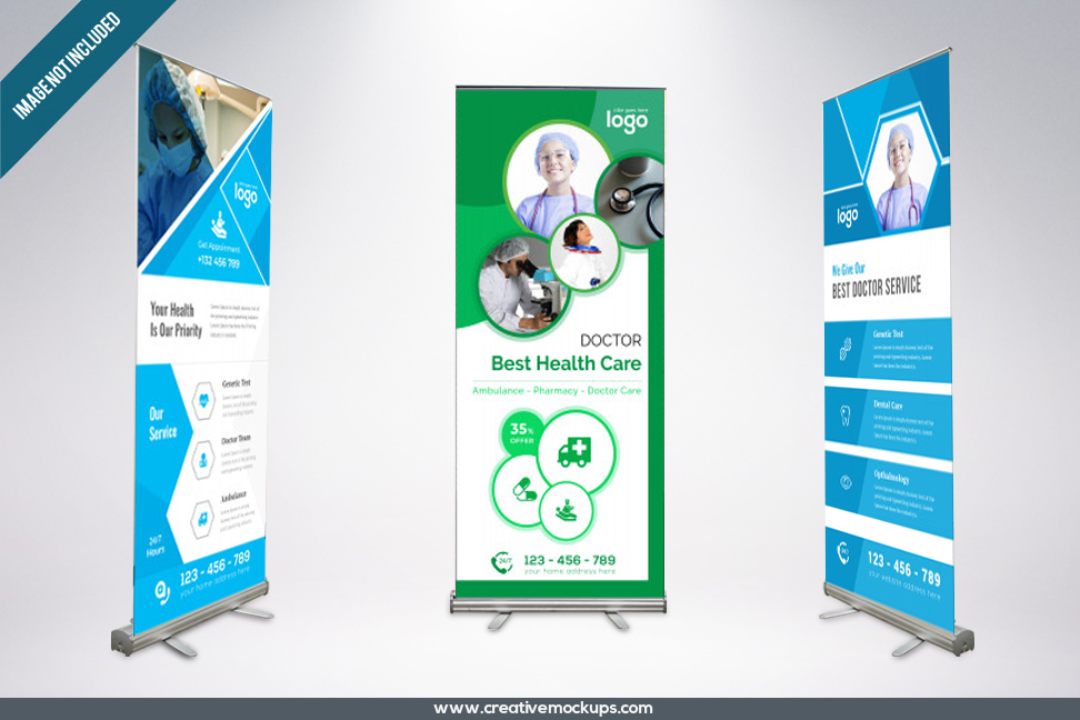 """Check out my Behance project """"medicalrollupbannerfor"""