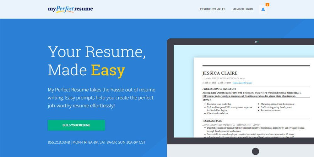 My Perfect Resume Login Adorable My Perfect Resume  Online Resume Builders  Pinterest  Online .