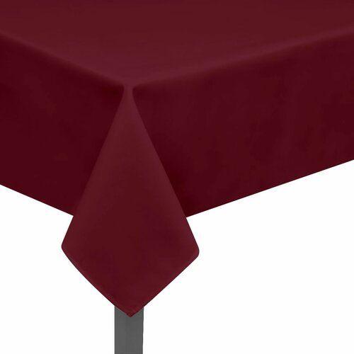 Tischdecke ClearAmbient Farbe: Burgunderrot, Größe: 130 cm B x 190 cm L