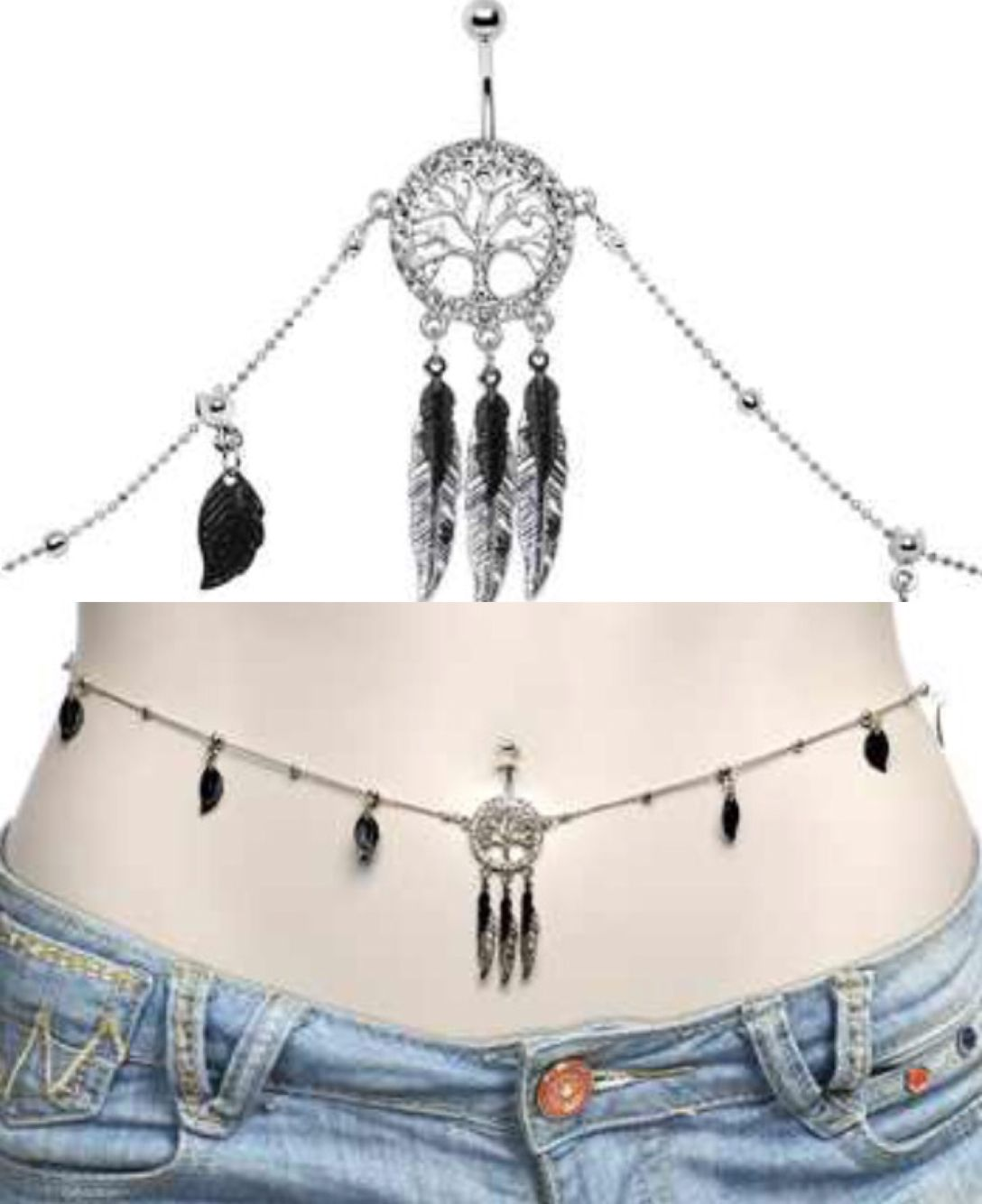 Belly Chain Absolutely Gorgeous Belly Chain Piercings For Girls Unique Jewelry