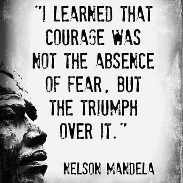 #fear #nevergiveup #courage #overcome #obstacles #staystrong #staypositive #motivation
