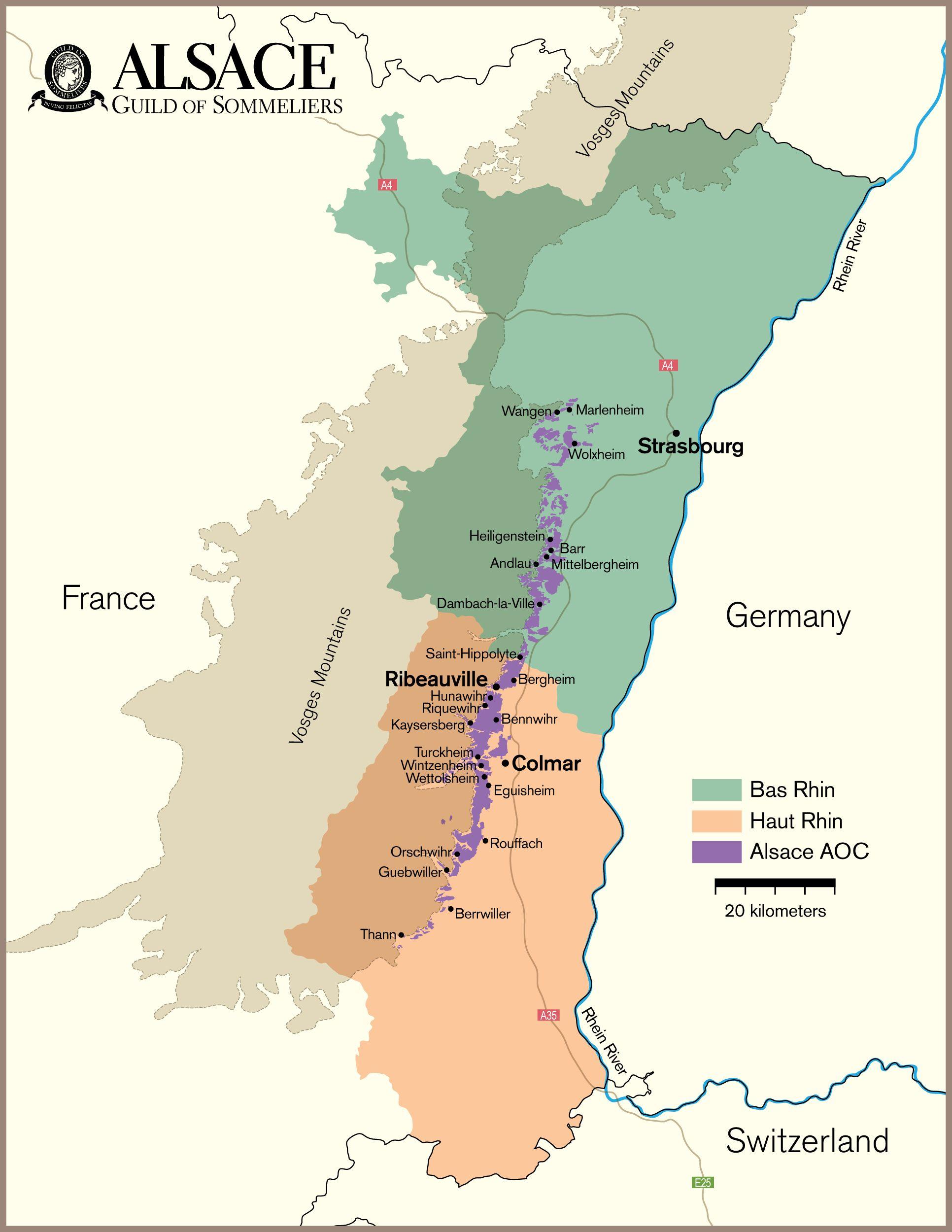 Alsace Vineyard Map Wine Vino Pinterest Alsace Wine And - Germany vineyards map