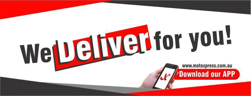 An MotoXpress company is there to courier your goods to