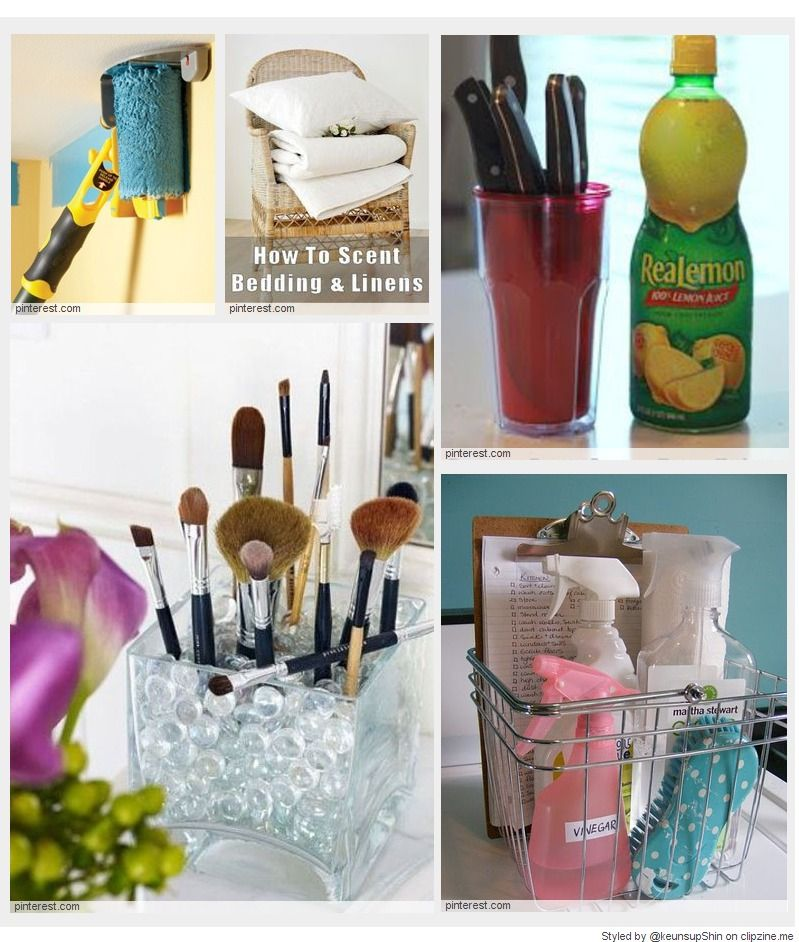 Top 35 Best Cleaning Tips on Pinterest