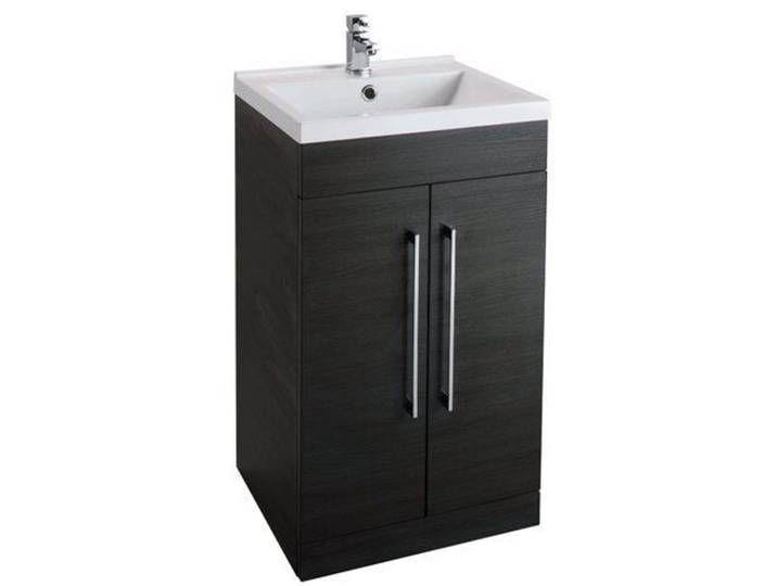 50 Cm Waschbeckenunterschrank Lewes Locker Storage Vanity Storage