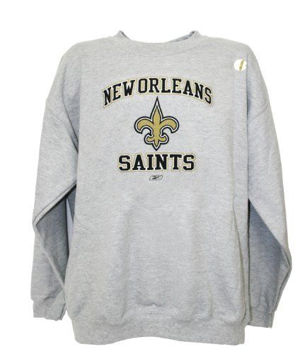 caf43396 NFL New Orleans St.s Sweat Shirt, Extra Large by Reebok. Save 37 Off ...