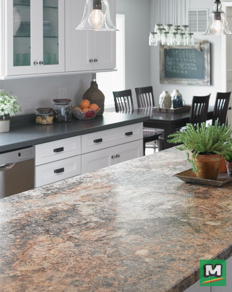 Love The Look Of Your Kitchen Again With CustomCraft Countertops® 6u0027  Laminate Countertop.