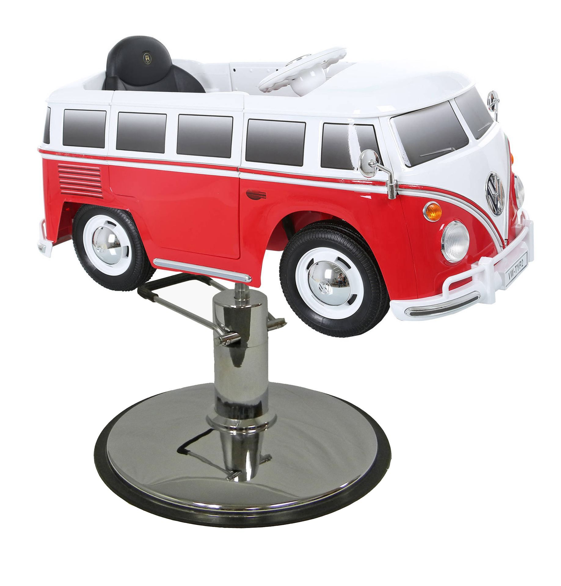 Amazing Show Details For Red Vw Bus Styling Chair With Your Choice Squirreltailoven Fun Painted Chair Ideas Images Squirreltailovenorg