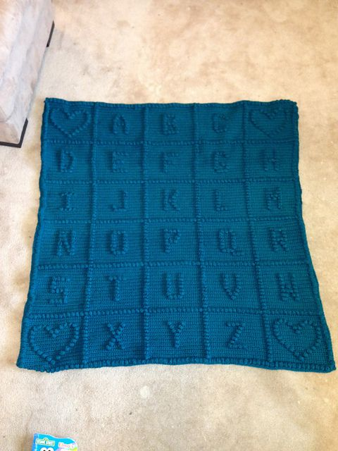 Ravelry: Project Gallery for Baby\'s ABC\'s Afghan pattern by Caron ...
