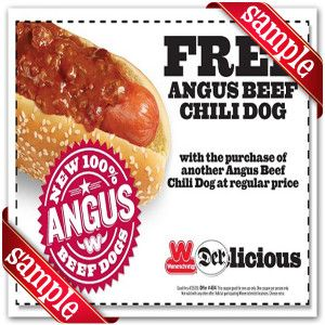 picture regarding Chili Printable Coupons referred to as Wienerschnitzel Coupon codes : December 2016 der Schinitzel