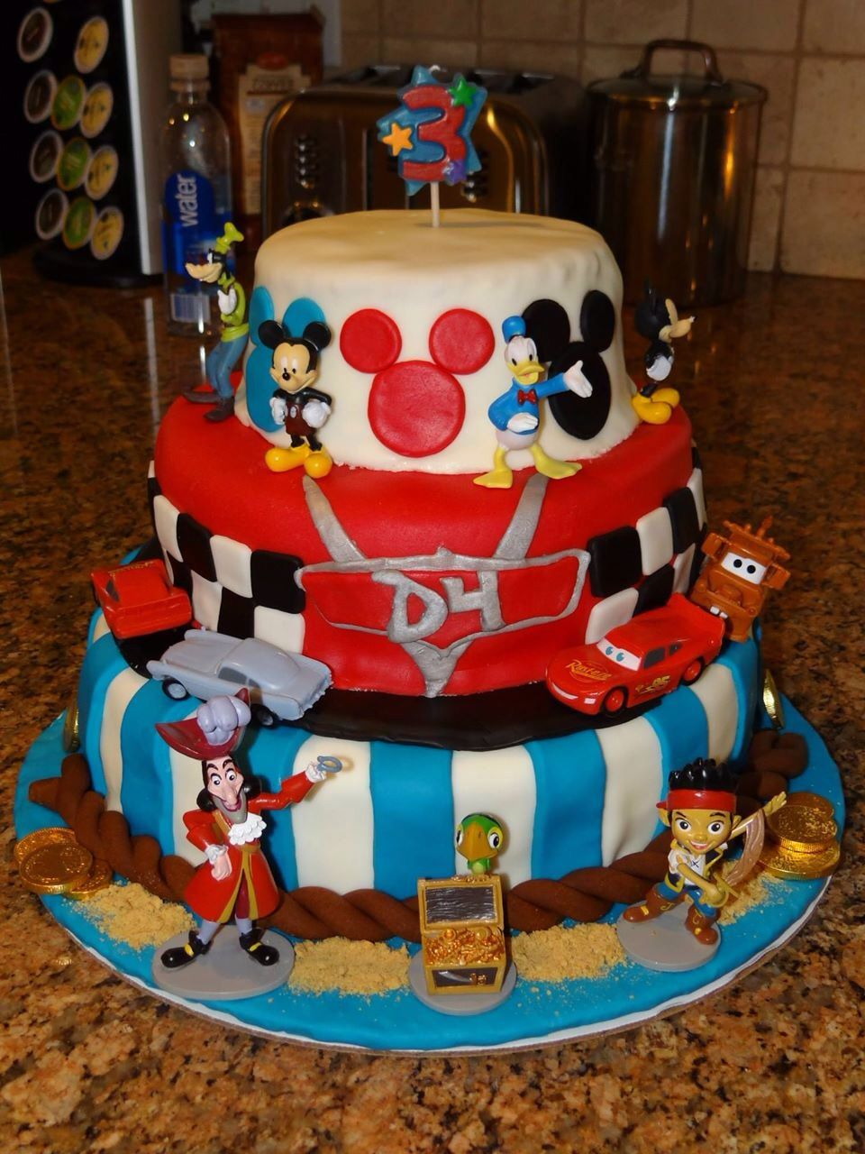 ... Cake Jake, Cam S 1St, Cake Ideas, 2Nd Bday, Disney Cakes, Birthday