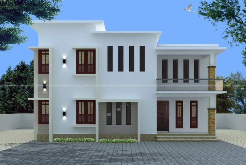 4 bedroom apartment on flat roof style   Roof styles ...