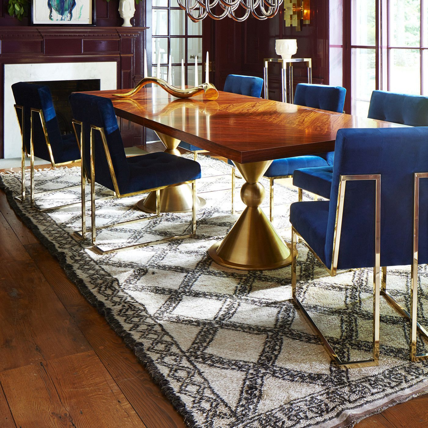 Our Bestseller By Jonathan Adler Pared Down Geometry In Polished