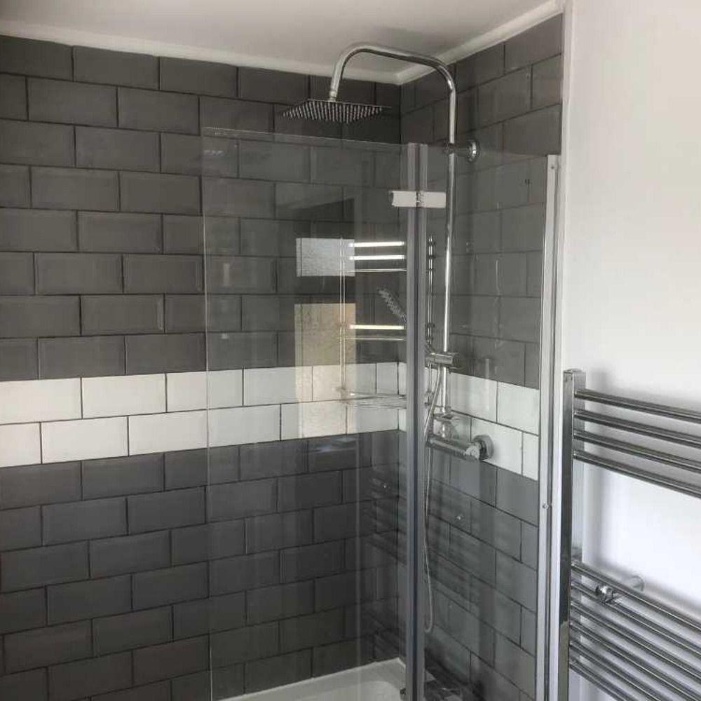 Bathroom Refurbishment With Asbestos Wall Removal Toilet Cistern Artex Ceiling Bathroom