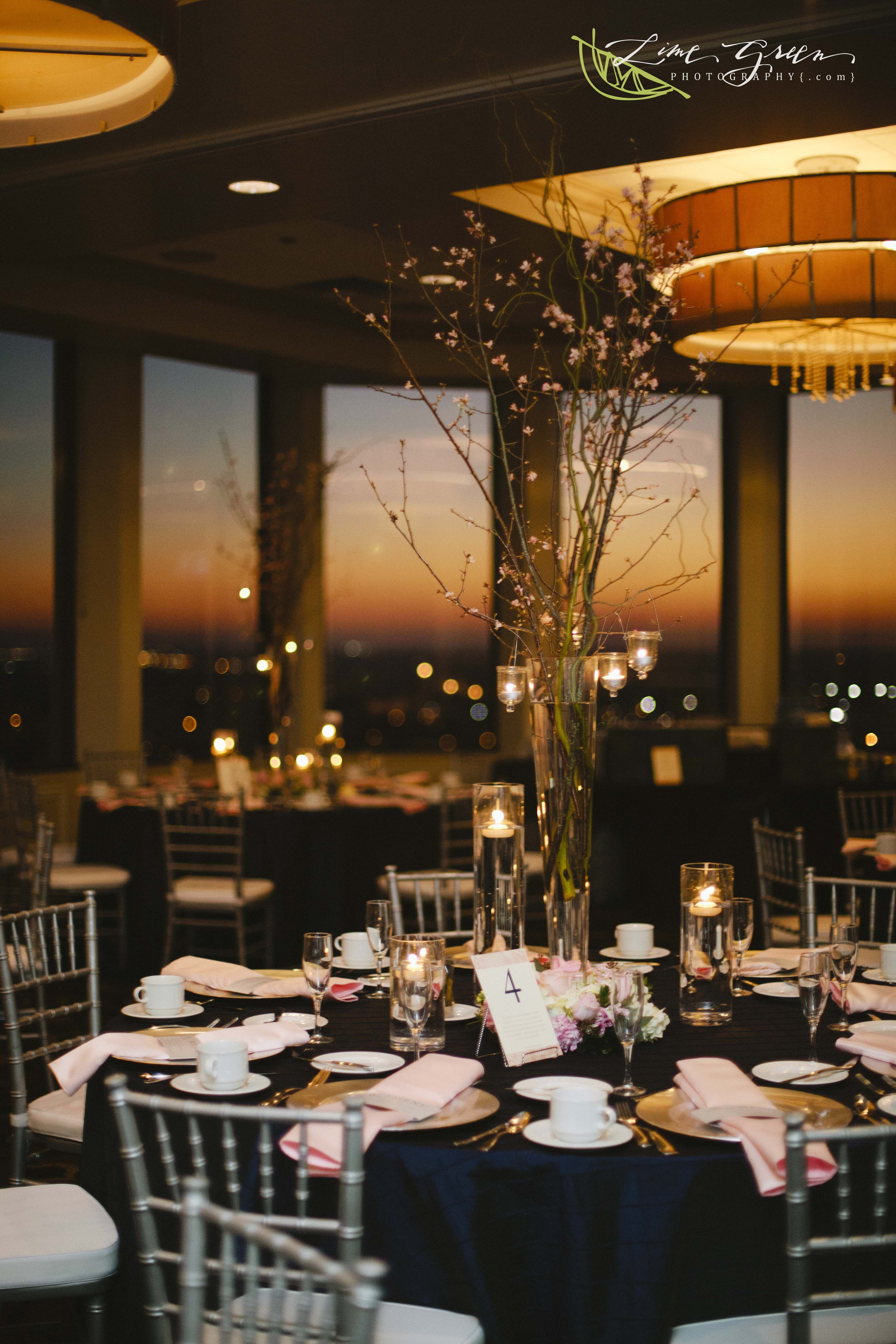 Citrus Club # Orlando Reception venues # Sunset # Chiavari Chairs ...